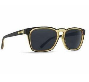 VZ Von Zipper Unisex Levee Black Lager Sunglasses. RRP $159.99. NWT