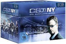 54 DVDs * CSI : NY - KOMPLETT BOX ~ SEASON / STAFFEL 1 - 9  NEW YORK # NEU OVP §