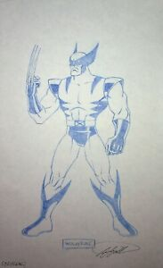 WOLVERINE X-Men The Animated Series SIGNED Frank Squillace Production Model Cel