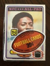 1980 TOPPS FOOTBALL CELLO PACK OTTIS ANDERSON ROOKIE TOP MINT