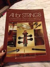 All Strings Comprehensions string Method Book 3 Violin Part Gerald Anderson