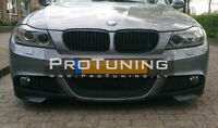 For BMW E90 E91 08-11 LCI M-Sport splitters / Elerons / Flaps for front bumper