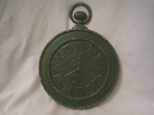 """vintage large wall decor Roman Numeral faux clock stopwatch metal """" MIDWEST TS-6"""