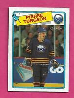1988-89 OPC # 194 SABRES PIERRE TURGEON ROOKIE EX-MT CARD (INV# C9694)