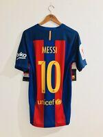 Fc Barcelona 2016-17 Match Vapor Messi Final Copa Del Rey 2017 Shirt Jersey