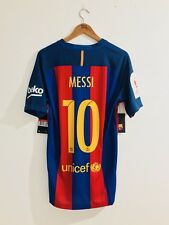 Fc Barcelona 2016-17 Match Vapor Messi Final Copa Del Rey 2017 Shirt Jersey