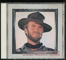 Ennio Morricone, Hugo Montenegro - Golden Themes From Italian Western Movies CD