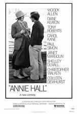 ANNIE HALL Movie POSTER 27x40 Woody Allen Diane Keaton Tony Roberts Carol Kane