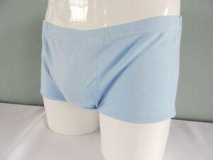 Vintage 1970s Mens Briefs Underpants Unused Pale Blue High Waist Pants 70s Retro