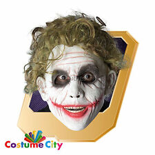 Gli adulti OFFICIAL LICENSED IL CAVALIERE OSCURO BATMAN Joker Parrucca Costume Accessorio