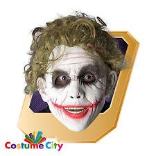 Adultos con Licencia Oficial Batman El Caballero Oscuro Guasón Peluca Disfraz Accesorio