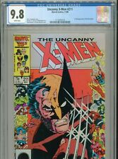 1986 MARVEL UNCANNY X-MEN #211 1ST FULL APPEARANCE MARAUDERS CGC 9.8 WHITE BOX12