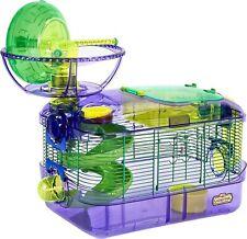 Massive Starter Hamster Set: Cage, Wheel, Ball And More, Kaytee Critter Trail