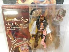 ZIZZLE 2006 PIRATES OF THE CARIBBEAN CANNIBAL KING JACK SPARROW  MOC SEALED