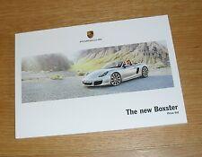 Porsche Boxster Price Guide & options brochure 2012-2013 - 981 2.7 3.4 S PDK