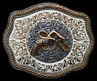 Western Belt Buckle Rodeo Cowgirl Cowboys Belts Buckle Boucle de Ceinture