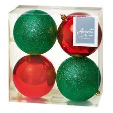 Premier Decorations 24pc 30mm Navidad árbol de Navidad Decoración Mini Bolas de cobre