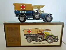 MATCHBOX (Y-13) 1918 CROSSLEY RAF AMBULANCE TRUCK, YESTERYEAR, DIECAST 1/47,MIB