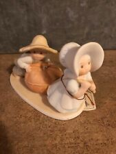 """Homco Masterpiece Circle of Friends """"Harvest Time� Euc 1991"""