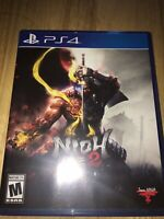 Nioh 2 -- Standard Edition (Sony PlayStation 4, 2020) TESTED- FREE SHIPPING
