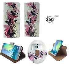 Sony Xperia M - Smartphone Hülle Tasche Schutzhülle - 360° XS Schmetterling 2