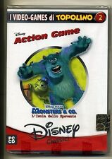 Disney Classici # MONSTERS & CO. L'ISOLA DELLO SPAVENTO #Action Game-PC CD Gioco