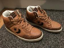 Converse Weapon Hi Brown baloncesto cortos zapatos size 9 mint condition rar