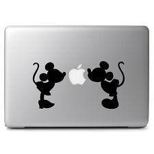 "Mickey Minnie Kissing Vinyl Decal Sticker for Macbook Laptop 11 12 13 14 15 17"""