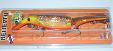 8 Believer Jointed Drifter Tackle Musky Pike Crankbait Holoform Hot Walleye 800J
