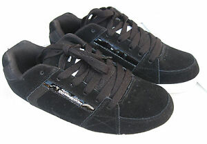 WorldIndustries girls boys athletic shoes leather black size 6 ;7  RRP-89.95 AUD