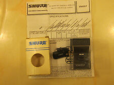 SHURE V15HR-P P-MOUNT CARTRIDGE WITH NOS GENUINE SHURE VNHR-P STYLUS & CASE