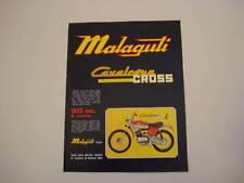 advertising Pubblicità 1973 MALAGUTI CAVALCONE CROSS 50