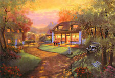 Andrew Warden Village Store HAND SIGNED ART Serigraph limited Edition MAKE OFFER