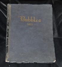 1923 Natchez High School Yearbook - Natchez Mississippi - Extremely Rare