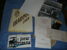1960 Madisonville North Hopkins High School Yearbook Maroons Kentucky Annual
