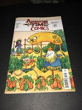 ADVENTURE TIME COMICS #11 SIGNED AND REMARKED!!