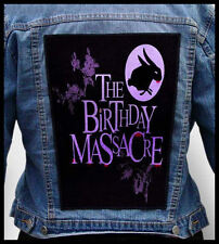 THE BIRTHDAY MASSACRE --- Giant Backpatch Back Patch