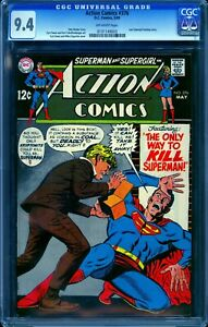 Action Comics 376 CGC 9.4 -- 1969 -- Superman. #0131149003