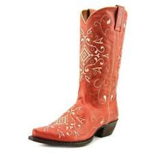 Calzado de mujer vaqueros de piel color principal rojo