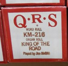 Qrs Kimball Electramatic Player Organ King Of The Road Nos Rare Km -216