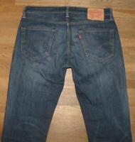 """Wow Levi `S 511 D' Homme Jeans / Levis Blue-Jeans En Foncé Bleu W33 """" / L32 """""""