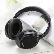 AUSDOM M06 Wireless Bluetooth Headset Stereo Deep Bass Headphones Headband w/Mic