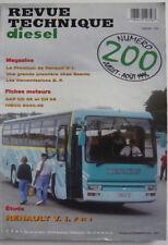 revue technique DIESEL RENAULT V.I  car  F R 1 n° 200