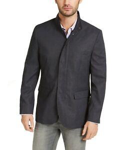 Alfani Men's Navy Kenneth Textured Jacket 2XL