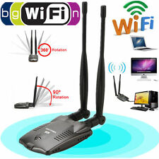 3000mW High Power USB Wifi Wireless Adapter Scheda di rete 150Mbps 802.11 ANTENNA