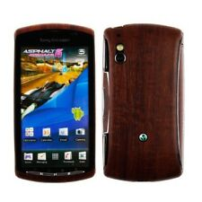 Skinomi Phone Skin Dark Wood+Screen Protector for Sony Ericsson Xperia Play 4G