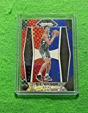 D.J. WILSON PRIZM RED WHITE BLUE ROOKIE CARD BUCKS RC 2017-18 PRIZM BASKETBALL