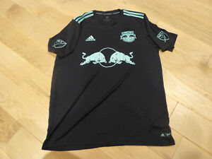 New Without Tag RARE Adidas 2019 New York Red Bulls Black Parley Jersey (Men XL)