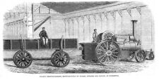 TRANSPORT ANTIQUE TRACTION ENGINE STEAM TRACTOR POSTER ART PRINT BB3273A