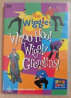 The Wiggles Whoo Hoo Wiggly Gremlins DVD Region 4 *RARE ORIGINAL RELEASE
